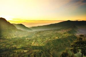 View Desa Cemoro Lawang dari Penanjakan 2